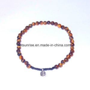 Semi Precious Stone Fashion Crystal Beaded Bracelet Gemstone Jewelry pictures & photos