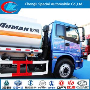 Euro III 2 Axle Aluminum Fuel Tank Truck of 15cbm Capacity pictures & photos