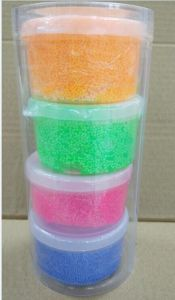 Air Dry Crystal Putty Crystal Putty, 4 Colors Air Dry Foam Putty, 16grams Packed in a Plastic Case Then 4 PCS Packed in a Color Box. pictures & photos