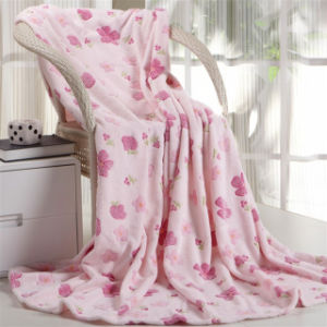 100% Polyester Luxury Winter Coral Fleece Blankets