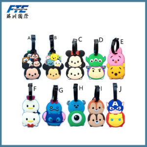 Multifunction Cartoon Silica Luggage Tag Name Tag pictures & photos