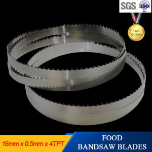 High Precision Cutting Band Saw Blades for Fresh Meat pictures & photos