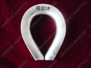 Casting Heavy Duty Malleable Cast Wire Rope DIN3091 Thimble pictures & photos