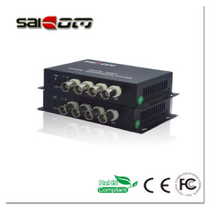 4CH Video+1CH Data(RS485), Single Fiber, Digital Video Optical Converter pictures & photos