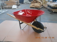 Heavy Duty Wood Handle Garden Wheel Barrow Wh6601 pictures & photos