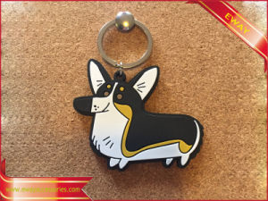 Rubber Dog Keychain Lovely Animal PVC Keychain pictures & photos