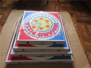 Locking Corners Pizza Box for Stability and Durability (CCB017) pictures & photos