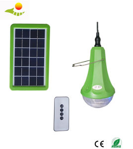 Solar Camping Lights with Remote Solar Home Lighting System with 3PCS Lamp Sre-99g-1 pictures & photos