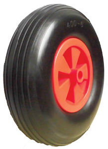 PU Wheels for Wheel Barrow Trolley Tool Cart PU1308