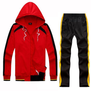 Wholesale Sport Wear Sport Materials Made Leisure Outwear Track Suit pictures & photos