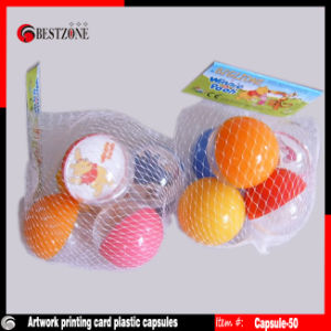Transparent Plastic Card Capsules for Advertisement Promotion or Gifts pictures & photos