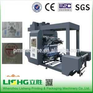 Plastic Film Flexo Printing Machine with Ceramic Anilo Rollers pictures & photos