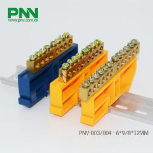 6*9 and 8*12mm Dinrail Mounting Terminal Block for Distribution Box
