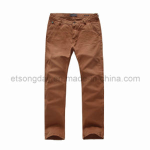 100% Cotton Men′s Trousers for Sale (DES-F13) pictures & photos