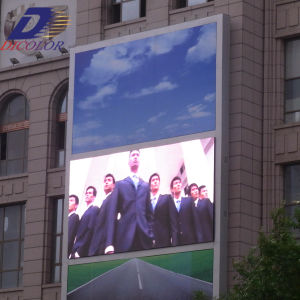Dicolor Outdoor Electronic LED Display Screen