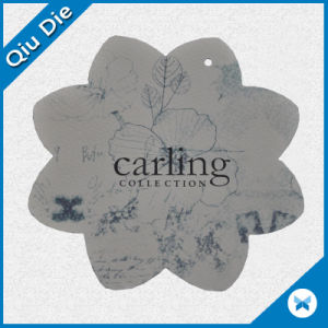 Wholesale Fashionable Flower Tag for Clothing\Bag pictures & photos