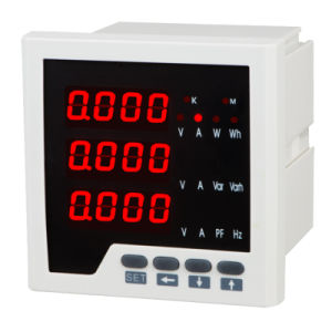 LED Three Phase Electric Network Multifunctional Power Meter pictures & photos