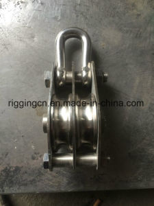 Stainless Steel High Quality Pully with Shackle pictures & photos