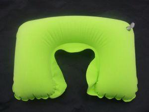 Wholesale U-Shape Inflatable Travel Neck Pillow pictures & photos