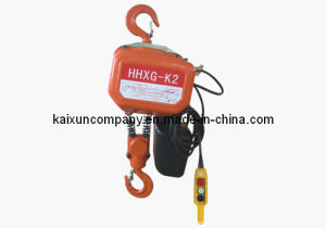 Chain Electric Hoist Hhxg-K1 for Lifting Capacity pictures & photos