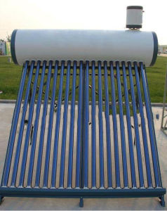 Pressured Solar Water Heater with Assistant Tank pictures & photos