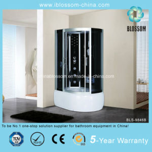Portable Grey Glass Massage Shower Room (BLS-9846B) pictures & photos