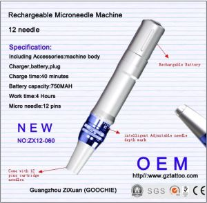Newest Digital Rechargeable Micro Needling Dermapen pictures & photos