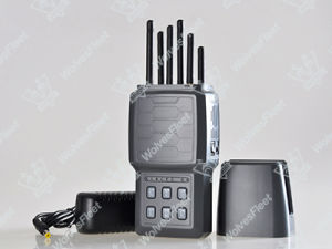 High Power Handheld Signal Jammer Wf-K6 pictures & photos