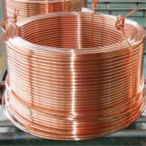 Soft Temper Refrigeration Copper Tube Tu2, Tu1 pictures & photos