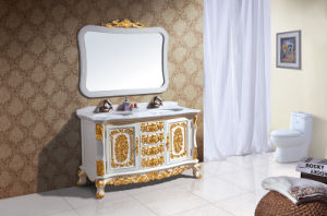 Marble Counter Top Sanitary Ware Bathroom Cabinet (B-8067) pictures & photos