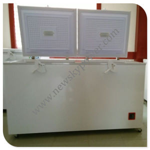 Chest Style China Solar Refrigerator (400L Capacity) pictures & photos
