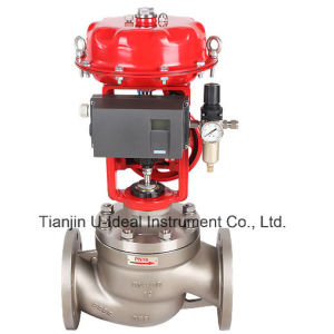 Pneumatic Diaphragm Intelligent Cage Control Valve pictures & photos