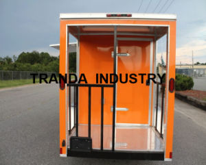 New Designed Moving Towable Mobile Food Cart with Ce pictures & photos