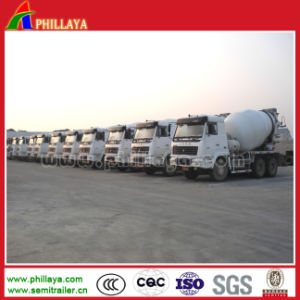 Concrete Mixer 3 Axle Tanker for Semi Trailer Truck pictures & photos