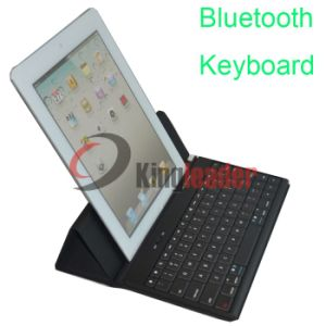 Bluetooth Leather Case Keyboard for iPad 1/2/3 - (KL-BK09) pictures & photos