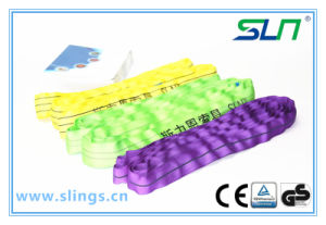 100% Synthetic Fibre Eyes Type Lifting Round Slings pictures & photos