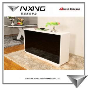 Glossy White&Black Sideboard 783#