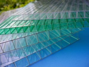 6mm Polycarbonate PC Hollow Sheets Manufacturers (H02)