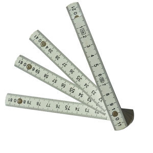 2 Meters 10 Folds Plastic Folding Ruler pictures & photos