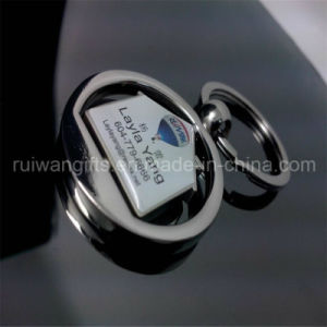 Epoxy Logo Metal Keyring for Advertising Gift (MKR028) pictures & photos