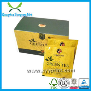 Custom Print Paper & Wooden Tea Box for Packaging pictures & photos
