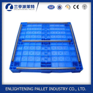 Heavy Duty Euro Plastic Pallet in China pictures & photos