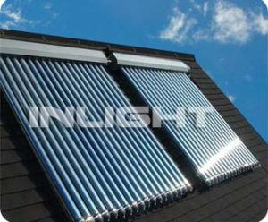 Aumlinum Alloy Heat Pipe Solar Collector pictures & photos