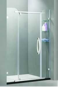 Project Stainless Steel 304 Component Pivot Outward Opening Shower Enclosure (09-109) pictures & photos