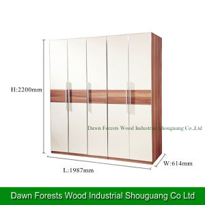 Bedroom Furniture Wardrobe with Four Doors pictures & photos