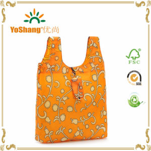 Portable Foldable Bag with Sturdy Workmanship Nylon Environmental Protection Shopping Bags pictures & photos