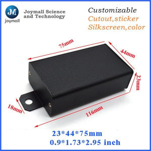 Colour Waterproof Aluminum Enclosure Box