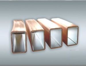 Rectangular Copper Mould Tube for CCM with Best Material pictures & photos