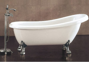 Cupc, CE Acrylic Classical Clawfoot Bathtubs pictures & photos