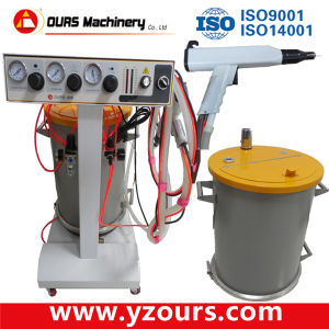 Ours High Quality Powder Coating Gun with ISO9001, 14001 pictures & photos